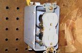 Hoe een 230 Volt luchtcompressor draad