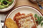 Goede kant voedingsmiddelen voor lasagne