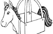 Hoe maak je een paard uit karton