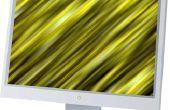 Het oplossen van de kleur op een scherpe 42 flatscreen