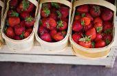 Hoe te het uitdrogen van de aardbeien in een conventionele Oven