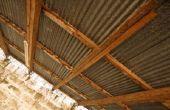 Wat voor soort dak Sealer heb ik nodig om zegel spijker gaten on a Tin Roof?