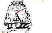 Hoe vindt u noorden met behulp van een analoog horloge