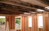 Beste manieren om houten plafond balken Shine