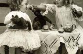 Hoe een Fancy thee feestje voor kleine meisjes