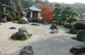 Hoe maak je een Zen-tuin hark