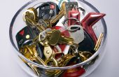 Hoe maak je een sleutelhanger Display rek