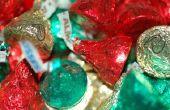 How to Make Kerstmiskronen met Hershey Kisses