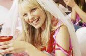 How to Make een Tule sluier voor een bruids douche