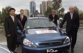 Problemen met een auto van KIA Rio