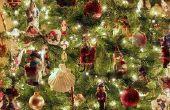 Stappen voor het versieren van een kerstboom