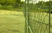 Hoe te gebruiken van de keten Link hek posten