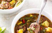 Hoe maak je authentieke Albondigas soep