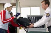 Hoe Pack een Carry-over zak voor een internationale vlucht