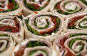 How to Make Deli Pinwheels