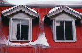 Hoe te verwijderen van een Dam van het ijs van het dak met een sneeuw smelt Sok