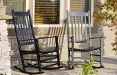 Hoe om te herstellen van een antieke schommelstoel