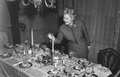 Een typische jaren 1930-eetkamer