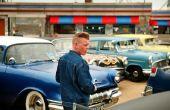 Geschiedenis van de jaren 1950 auto 's