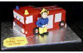 Hoe maak je een Cake van de kindverjaardag brandweerman SAM