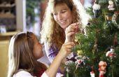 Kinder gekleurd glas kerstboom activiteiten