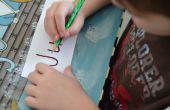 Hoe te leren kleuters hun naam schrijven zelf