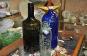 Hoe te identificeren van antieke glazen flessen