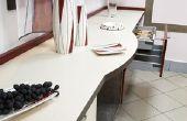 Ideeën voor het maken van een kleine kombuis keuken kijken groter