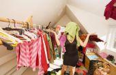 Hoe te organiseren een Walk-in Closet
