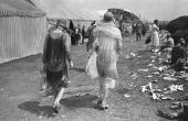 Avondjurk voor Hollywood dames in de jaren 1920