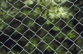 Verschil tussen 11-1/2 Gauge & 9 meter ketting Link hek