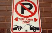 Illegale plaatsen om een auto te parkeren