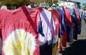 Instructies voor Tie Dye vlinder ontwerpen