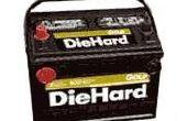 Hoe om te springen Start een lege batterij in een auto