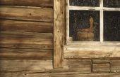 Hoe te behandelen van het interieur van een Log Home
