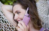 Het gebruik van een mobiele telefoon riem