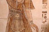 Hoe maak je een Egyptische kostuum voor kinderen