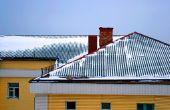Hoe toe te passen van metalen dakbedekking Over triplex