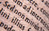 Hoe om te leren van Latijn voor Beginners