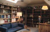 Hoe maak je een persoonlijke bibliotheek thuis