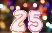 25e verjaardag huidige ideeën