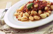 Wat gaat goed met Aardappel Gnocchi?