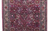 Identificeren van antieke Perzische tapijten