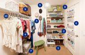 Hoe Organiseer een kleding kast