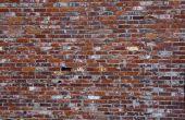 Hoe stucwerk Over baksteen buitenkant
