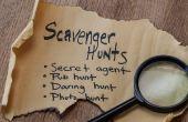 Krankzinnig Scavenger Hunt ideeën lijst