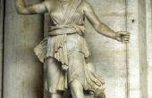 Hoe maak je een tekening van de godin Artemis
