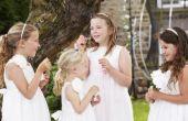 Leuke activiteiten voor kinderen op een bruiloft receptie