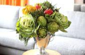 Hoe maak je een eigentijdse bewerking met groenten en fruit