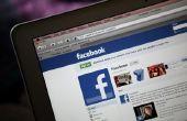 Hoe Stuur een mailtje naar Facebook's Administration